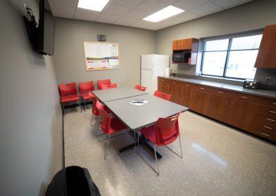 Chief Carriers Employee Breakroom